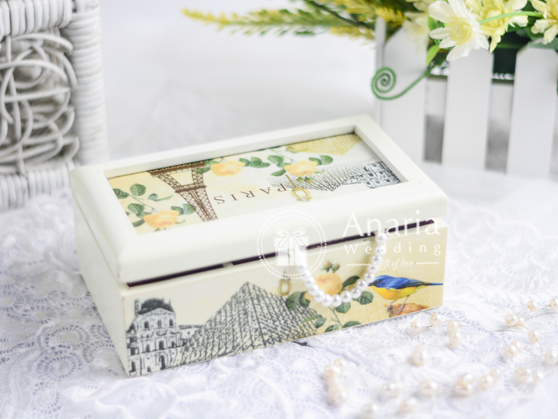 Souvenir Pernikahan Long Jewelry Box