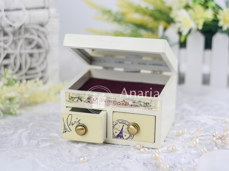 Souvenir Nikah Short Jewelry Box