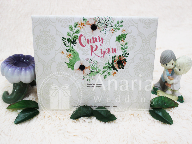 Wedding Card Pop Up Onny-Ryan