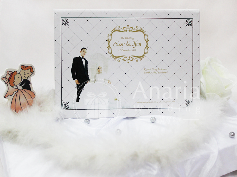 Wedding Card Pop Up Template Sissy - Ifan