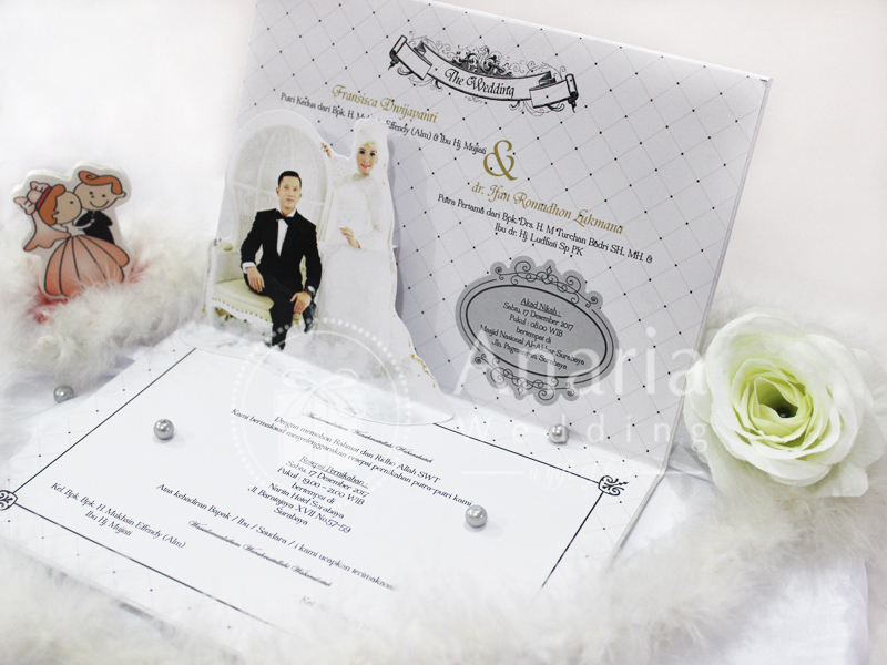 Wedding Card Pop Up Template Sisy - Ifan