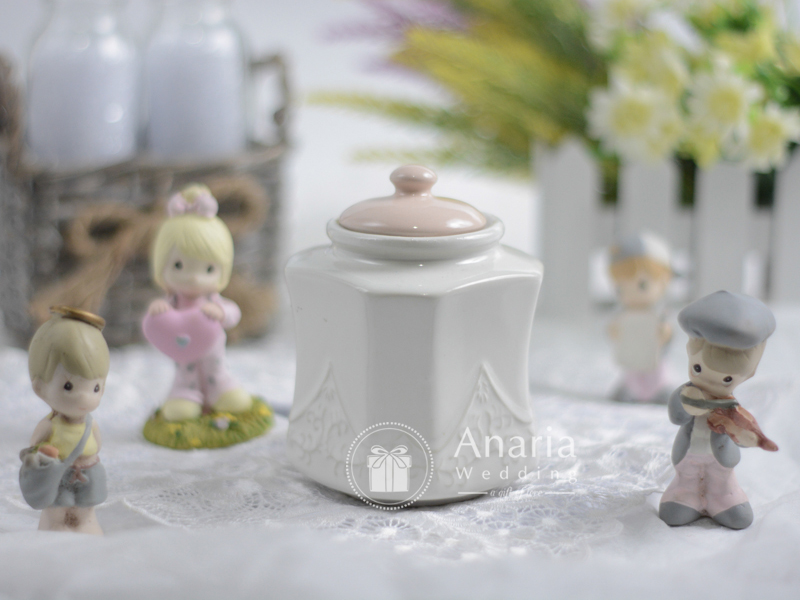 Wedding Souvenir Candy Jar Milk