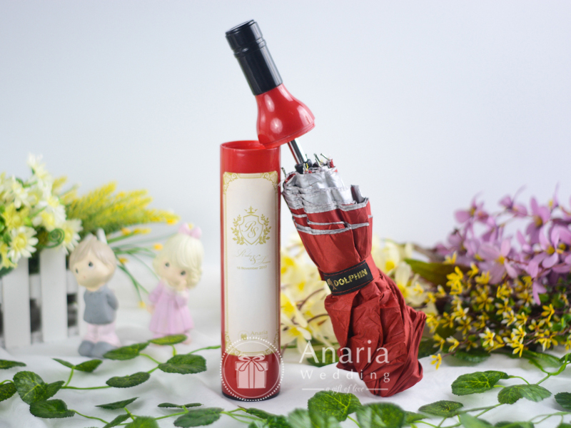 Red Bottle Umbrella Souvenir