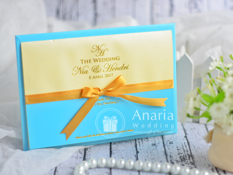 Exclusive Wedding Card, undangan custom, Undangan Minimalis