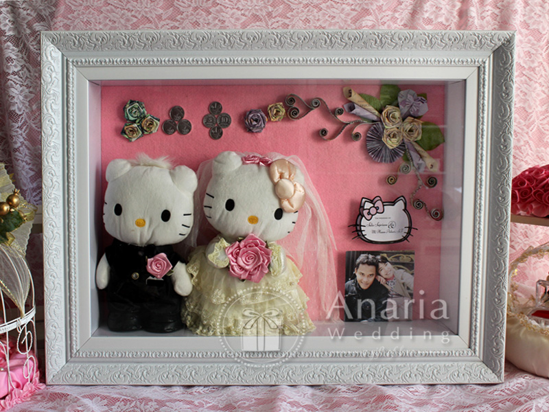 Mahar Pernikahan Unik Model Hello Kitty