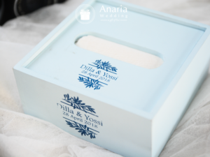 Souvenir Pernikahan Eksklusif Down Up Tissue Box Ky48